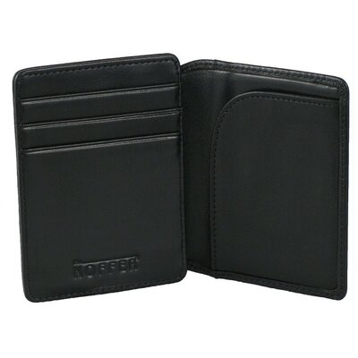 Front Pocket ID Wallet in Nappa Onyx