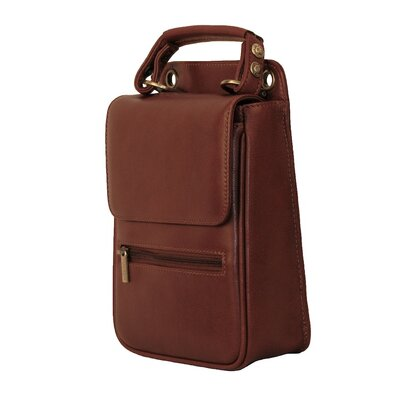 Dr. Koffer Fine Leather Accessories Lionel Flapover Document Bag