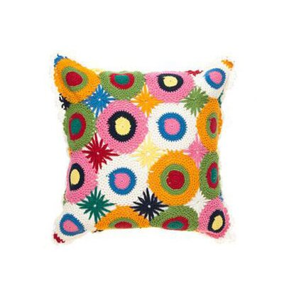 Amity Home Crochet Pillow