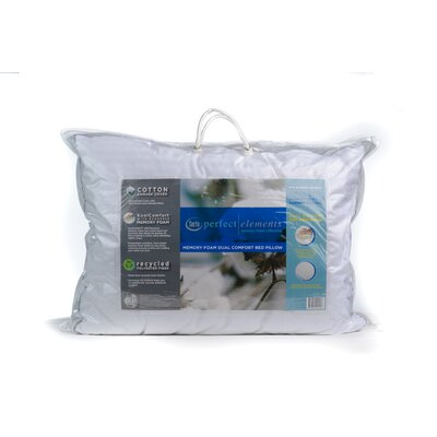 Serta Perfect Elements Dual Comfort Cotton Pillow