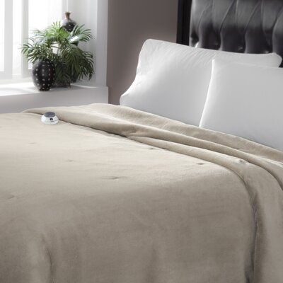Serta Perfect Sleeper Serta Luxe Plush Micro Fleece Electric Blanket