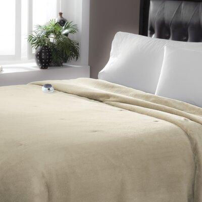 Serta Perfect Sleeper Serta Luxe Plush Micro Fleece Electric Blanket