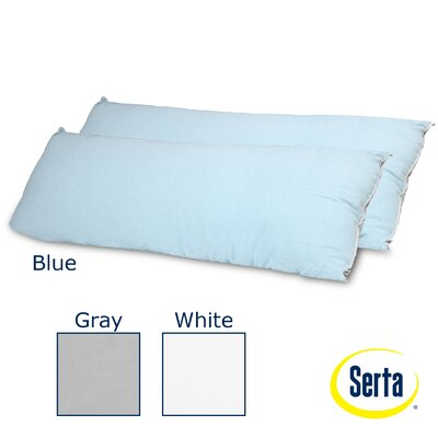 Serta Mattress Perfect Sleeper Flannel Body Pillow (Set of 2)