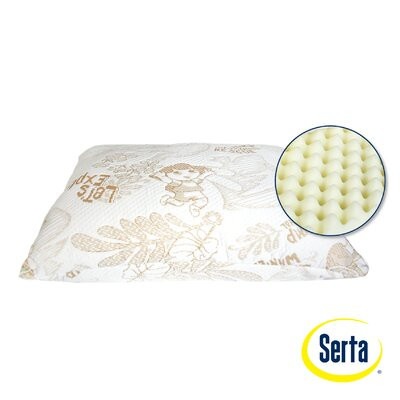 Serta Mattress Nickelodeon Dora the Explorer Memory Foam Standard Pillow