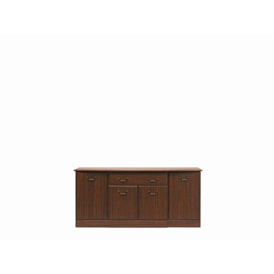 Caxton Byron Four Door Sideboard in Mahogany