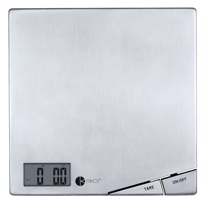 Kitrics Stainless Steel Digital Scale