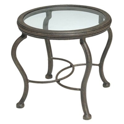 Woodard Landgrave Old Gate Round End Table