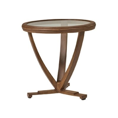 Woodard Landgrave Vienna Round End Table