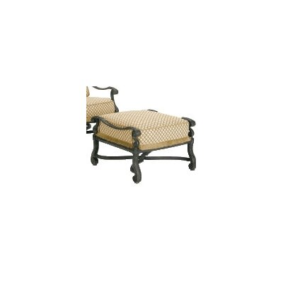Woodard Landgrave Villa Ottoman with Cushion