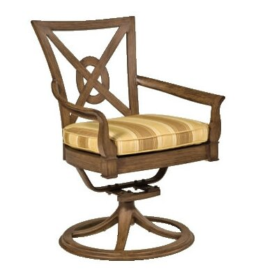 Woodard Landgrave Vienna Lounge Chair with Seat and Back Cushions