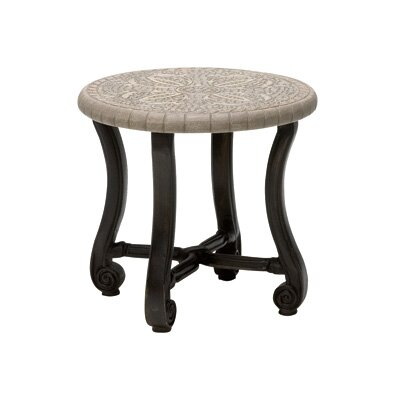 Woodard Landgrave Villa Round End Table