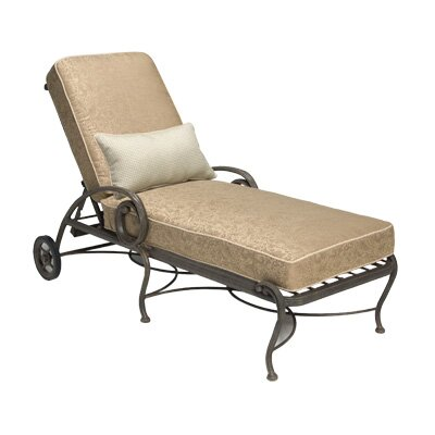 Woodard Landgrave Old Gate Chaise Lounge with Cushion
