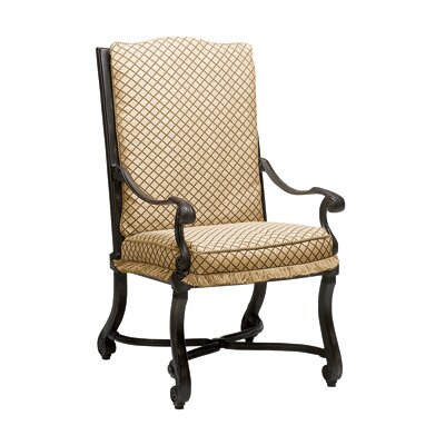 Woodard Landgrave Villa Dining Arm Chair with Cushion