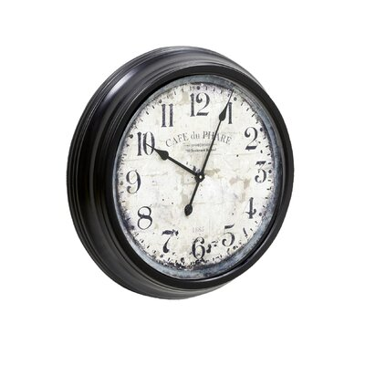 Style Craft Cafe Du Phare Wall Clock