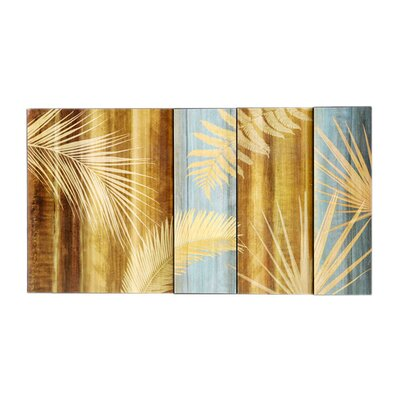 Palms Wall Plaque