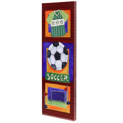 Style Craft Soccer Canvas Art