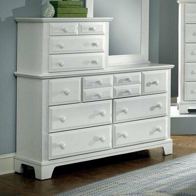 Hamilton Franklin 10 Drawer Vanity Dresser