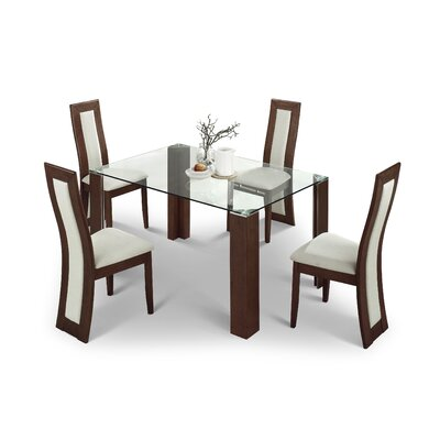 Home Zone Ostro 5 Piece Dining Set