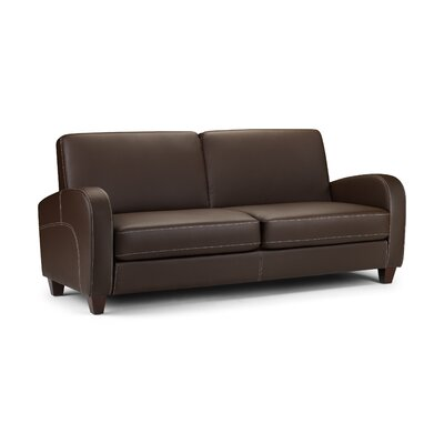 Julian Bowen Vivo Three Seater Sofa in Chestnut