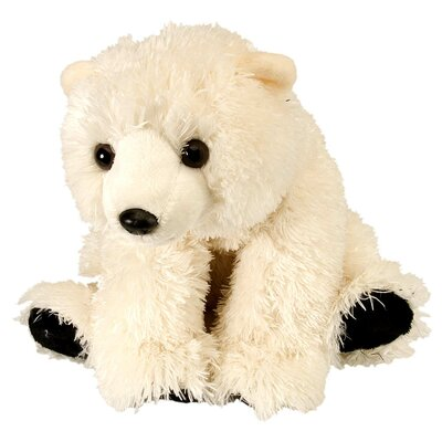 Wild Republic Cuddlekin Baby Polar Bear Plush Stuffed Animal