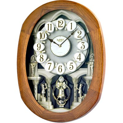 Rhythm U.S.A Inc Joyful Encore Melody Wall Clock