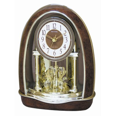 Rhythm U.S.A Inc Classic Nightingale Melody Clock