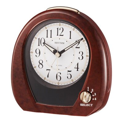 Rhythm U.S.A Inc Joyful Morning Alarm Clock