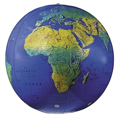 "Replogle Globes 27"" Inflate-A-Globes in Dark Blue"