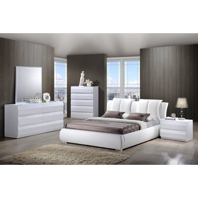Bailey platform bedroom collection wayfair for Bedroom furniture usa