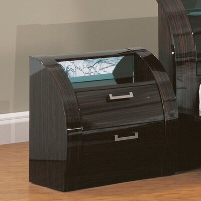 Global Furniture USA Madison 2 Drawer Nightstand