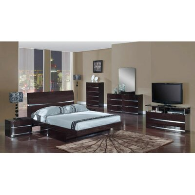 Global Furniture USA Aurora 2 Drawer Nightstand