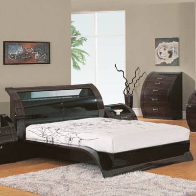 Global Furniture USA Madison Sleight Bed