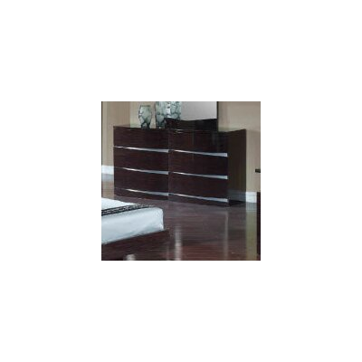 Global Furniture USA Aurora 6 Drawer Dresser