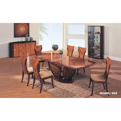 Global Furniture USA Lotus Dining Table