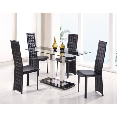 Global Furniture USA Seminole 5 Piece Dining Set