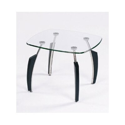 Global Furniture USA Crestone End Table - Black