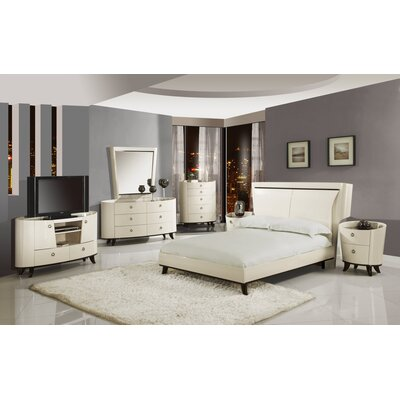 Global Furniture USA Angelica Platform Bedroom Collection