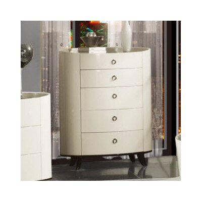Global Furniture USA Angelica 5 Drawer Chest