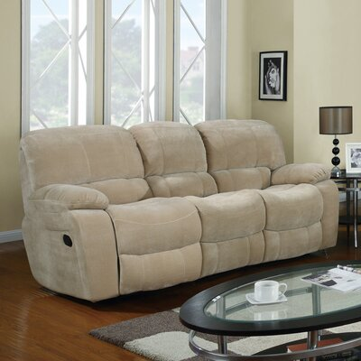 Drop Down Table Reclining Sofa