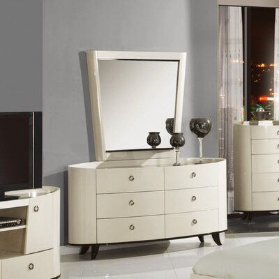 Global Furniture USA Angelica 6 Drawer Dresser