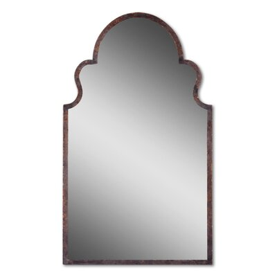 Uttermost Brayden Arch Mirror in Dark Brown