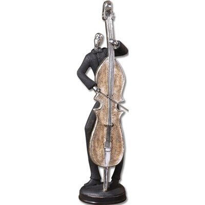 Uttermost 3 Piece Musician Figurine Set