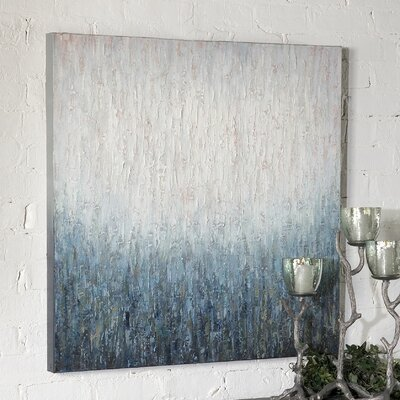 Uttermost Outside The Window Original Painting on Canvas