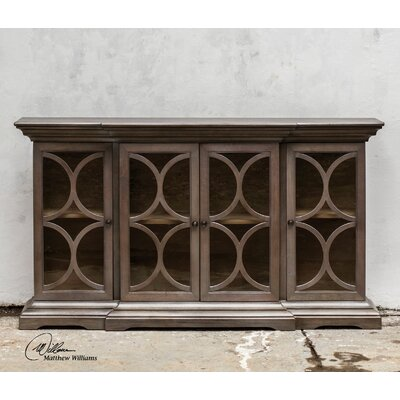 Belino Wooden 4 Door Cabinet