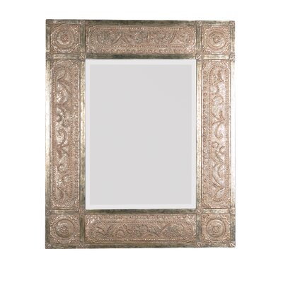 Uttermost Harvest Serenity Mirror in Golden Champagne Leaf