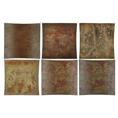 Uttermost Miki Collage Metal Wall Art, Set of 6