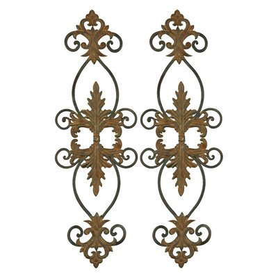 Uttermost Lacole Decorative Metal Wall Art (Set of 2)