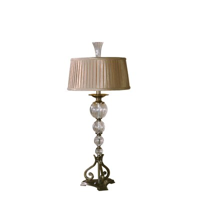 Uttermost Narava Table Lamp in Dark Coffee Bronze