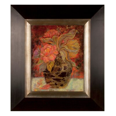 Floral Buna by Holman Painting Print on Shadow Box