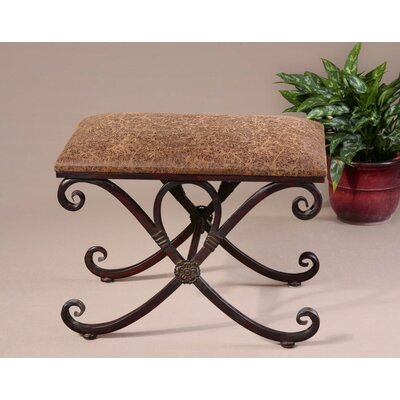 Uttermost Manoj Fabric Bench